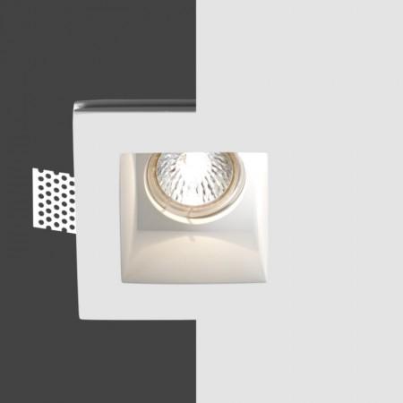 Ihned - Belfiore 4035.004.35 STROPNÍ sádrové italské BODOVÉ svítidlo ruční výroby