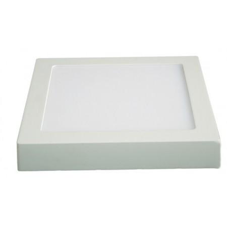 LED panel přisazený, 18W, 1530lm, 3000K, čtvercový, bílý