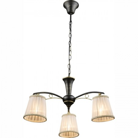 Lustr - závěsné svítidlo rustikální 769014-3H1