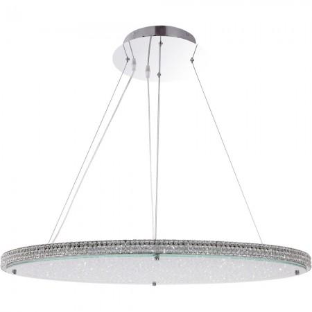 GLOBO 15683 CURADO Závěsné LED křišťálové svítidlo designové