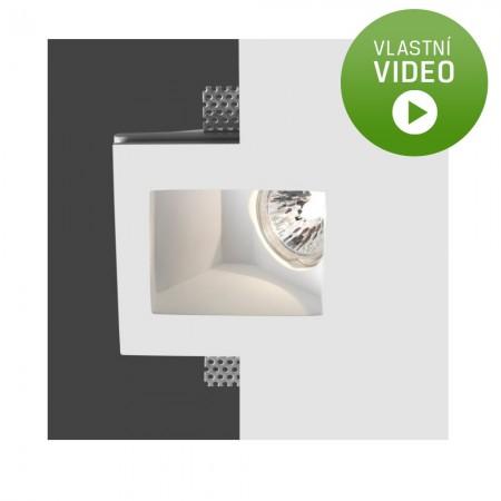 Ihned - Belfiore 4034.004.35 STROPNÍ sádrové italské BODOVÉ svítidlo ruční výroby
