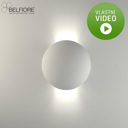 Belfiore 2350-108-52-CT nástěnné sádrové italské svítidlo ruční výroby