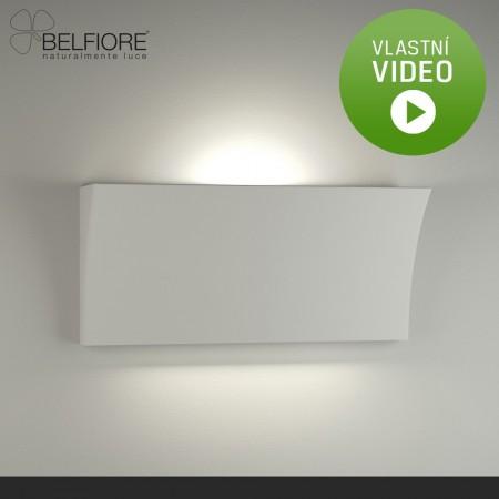Belfiore 2014-108-52-00-9 nástěnné sádrové italské svítidlo ruční výroby