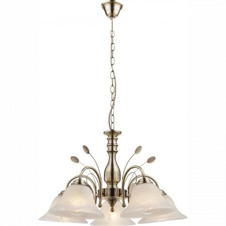Lustr - závěsné svítidlo rustikální 769007-5H1