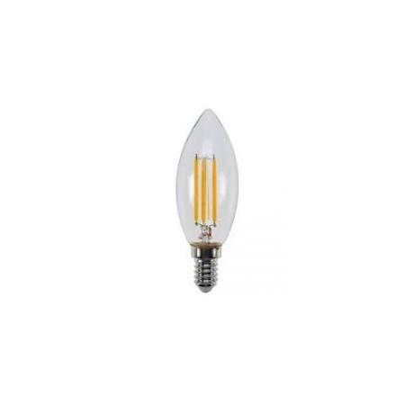 LED ŽÁROVKA RETRO 4W E14 3000K teplá žlutá (SL401)