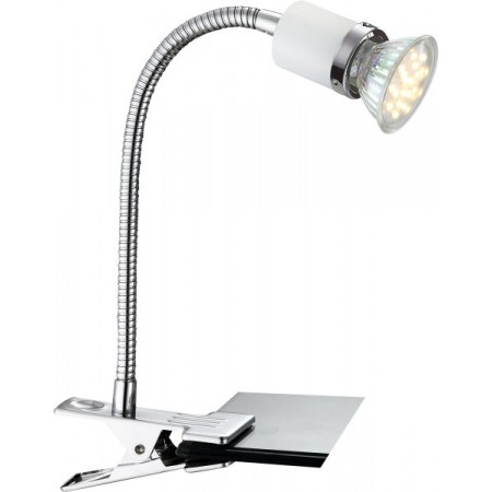 GLOBO 57996-1K Stolní LED lampa se skřipcem Fina