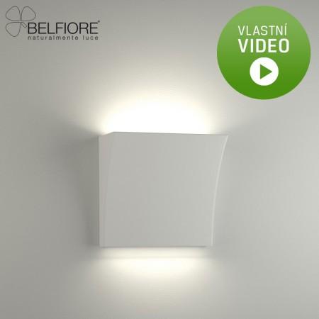 Belfiore 2012-108-52-00-9 nástěnné sádrové italské svítidlo ruční výroby