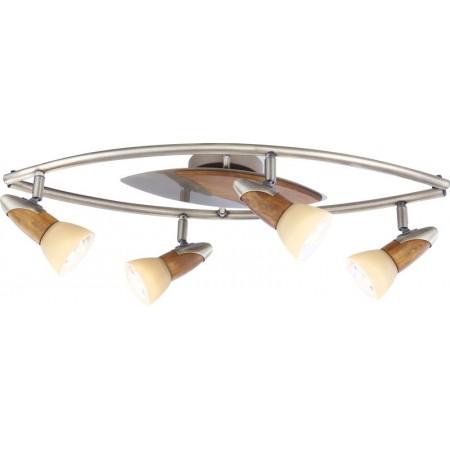 Bodové stropní svítidlo LORD III 5443-4B