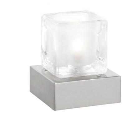 GLOBO 21980 STOLNÍ LAMPA S DOTYKOVÝM STMÍVAČEM NUBUK