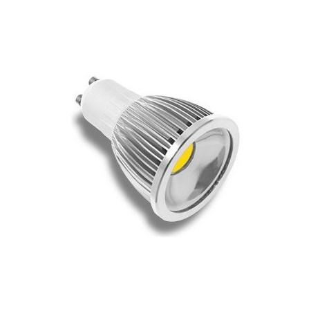 LED žárovka, GU10, 5W, teplá bílá