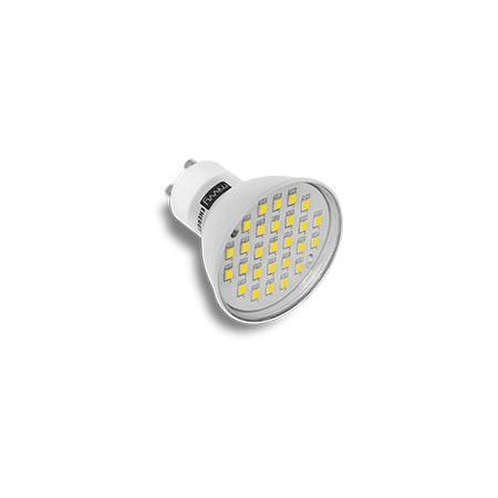 LED žárovka, GU10, 4W, teplá bílá