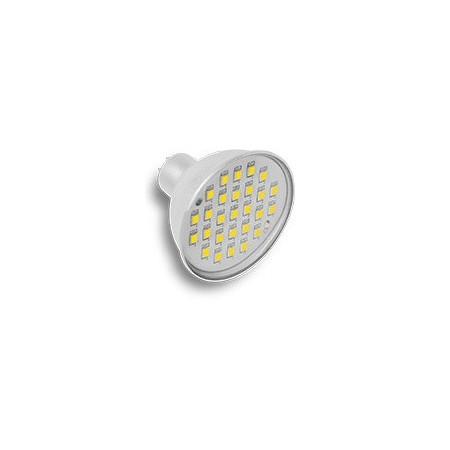 LED žárovka, GU5.3, 4W, teplá bílá