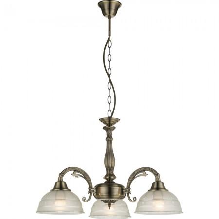 GLOBO 60207-3 HORUS Závěsné svítidlo rustikální