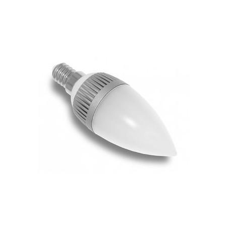 LED žárovka, E14, 4,5W, teplá bílá